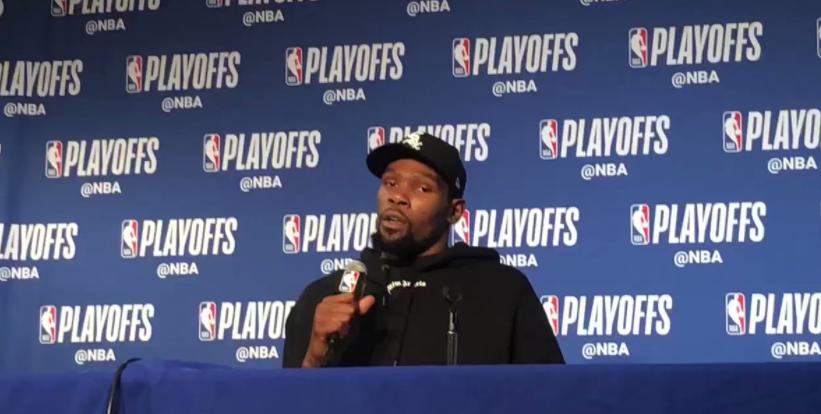 杜兰特:库里带着MVP的专注度打球,因为他是MVP NBA新闻