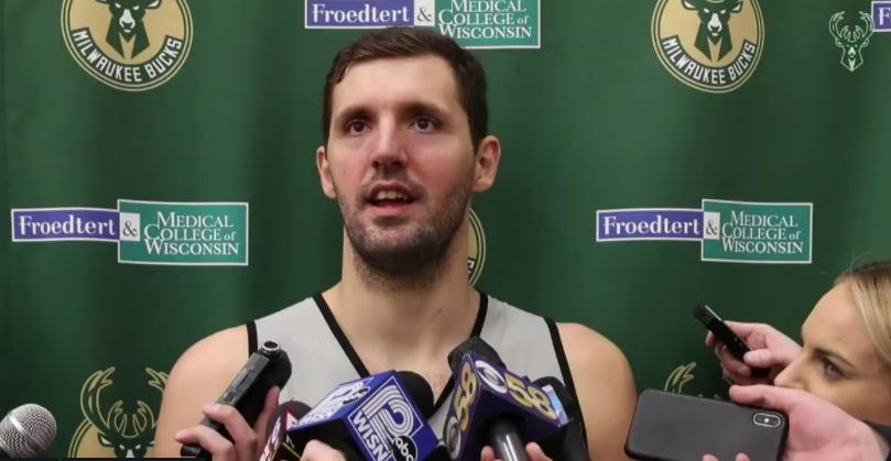 米罗蒂奇:我的身体感觉很棒,没有预想中的那些疼痛感 NBA新闻
