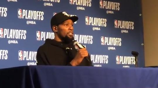 杜兰特:在系列赛开始前就知道与贝弗利对位意味着什么 NBA新闻