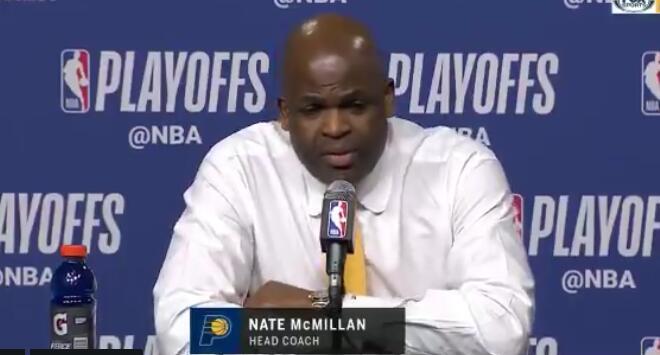 麦克米兰:下半场执行力不够,导致我们失去了节奏 NBA新闻