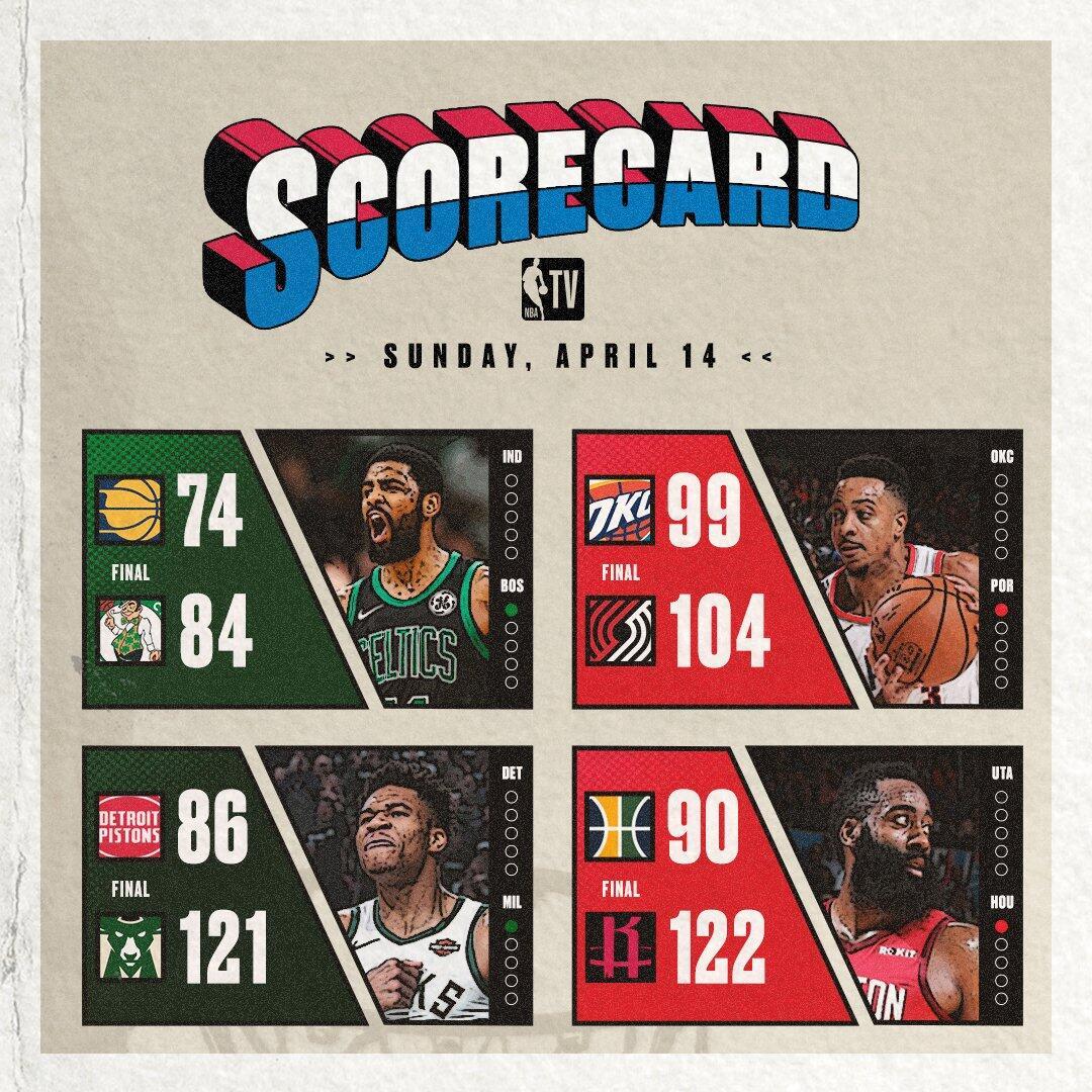 季后赛第二日,主场作战的四支球队全部获胜 NBA新闻