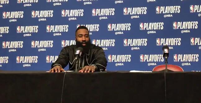 哈登:我真的已经见过所有可能的防守了 NBA新闻