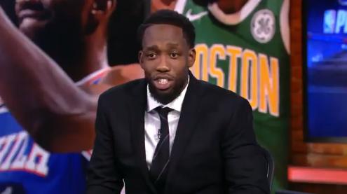 贝弗利做客NBATV:妈妈,我上电视了