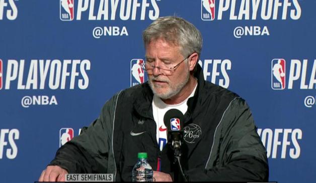 布朗:赢得总冠军很困难,成为笑到最后的那个人也很困难