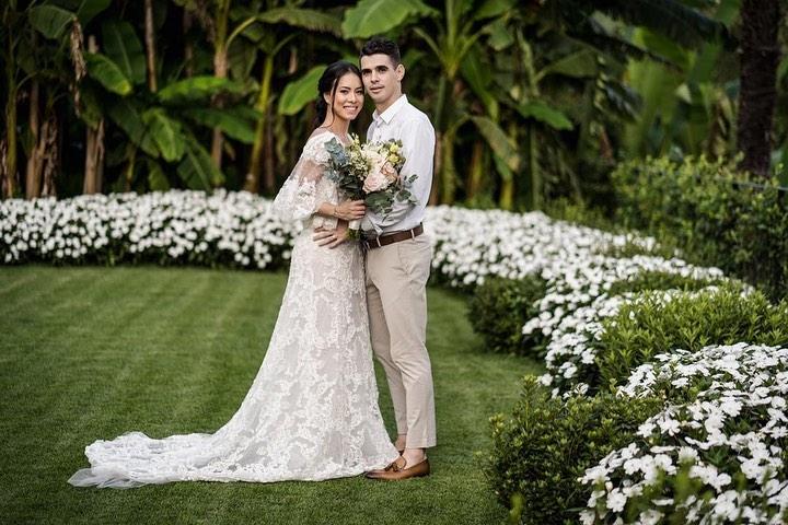 多图流:结婚十周年,奥斯卡与妻子在意大利拍纪念照