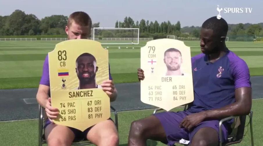 戴尔FIFA20能力值仅79,球迷:快给戴尔整哭了