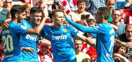西甲:切里舍夫一锤定音,瓦伦西亚1-0客胜毕巴
