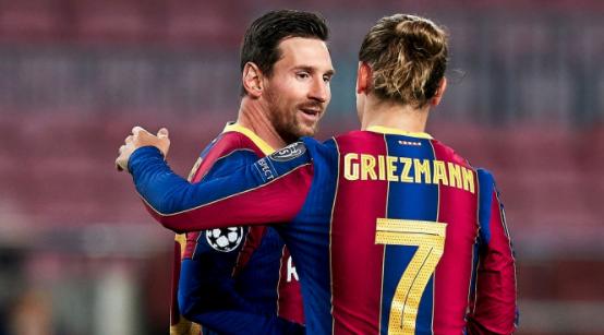记者:格列兹曼和梅西很亲密,攻击梅西的非其核心圈子