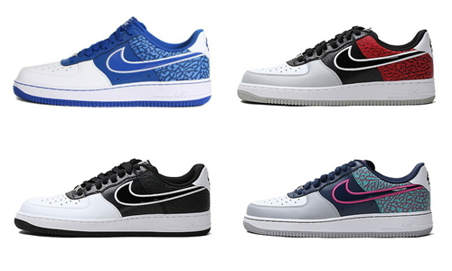 NIKE AIR FORCE 1 AF1 爆裂纹南海岸 488298-031/416/417