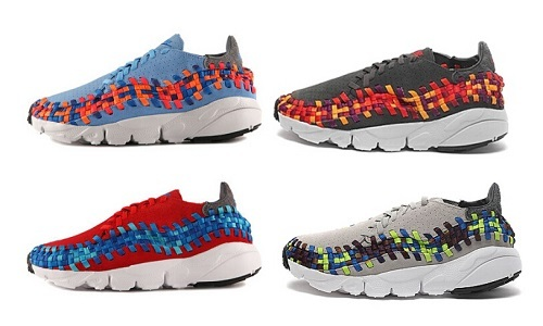 NIKE Footscape Woven 彩虹编织 417725-401/003/004/607