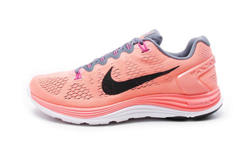 专柜正品 Lunarglide+ 5 超轻登月5代 女子跑步鞋 599395-604