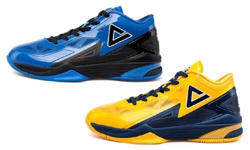 匹克2014新款NBA球星乔治希尔战靴TP9闪电2代莱特篮球鞋E41053A