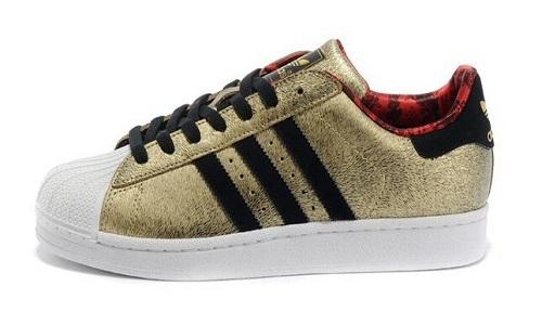 现货 Adidas 三叶草 superstar 土豪金 限定配色 广告款 D65601