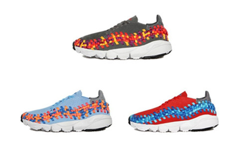 Nike Air Footscape Woven Motton 彩虹编织 417725-003/401/601