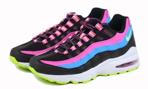 现货即发 Nike Air Max 95 310830-006 Rainbow 彩虹配色