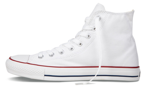 Converse All Star 101009 白色高帮常青款
