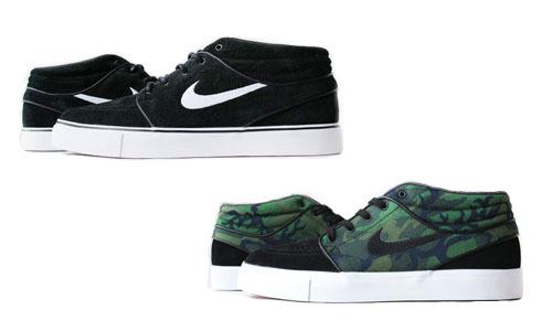 专柜正品 Nike Zoom Stefan Janoski Mid 板鞋 443095 001 033