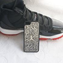 10-12去购买 > 1 包邮aj 乔丹 jordan 金属 爆裂纹 iphone5 手机壳图片