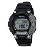 智能表!Casio 卡西欧 STB-1000-1蓝牙运动智能手表