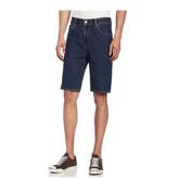 补货!有晒单!Levi's 505系列 男士直筒牛仔短裤