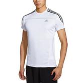 好价!阿迪达斯 男式 运动感应 跑步短袖T恤