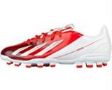 adidas 阿迪达斯 八折 足球 男 F50足球鞋 亮白