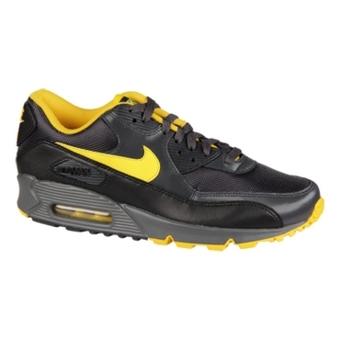 Nike Air Max 90 煤黑/速度黄/黑/浅灰色