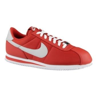 "Nike Cortez Basic Nylon ""阿甘鞋"" 龙红/白/浅灰色"