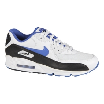 Nike Air Max 90 白/游戏宝蓝/黑