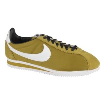 "Nike Classic Cortez Nylon ""阿甘鞋"" 黄绿/白/煤黑/速度黄(女子)"