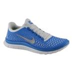 Nike Free 3.0 V4 纯铂色/反光银/飞翔蓝