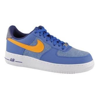 Nike Air Force 1 暴风蓝/鲜艳橙/白