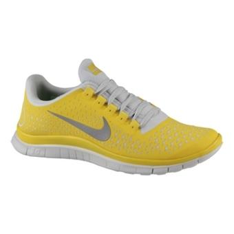 Nike Free 3.0 V4 金属黄/反光银/纯铂色