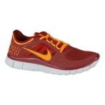 Nike Free Run+ 3 队红/荷兰橙色/纯铂色