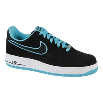 Nike Air Force 1 黑/宝蓝色
