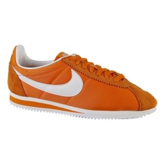 Nike Classic Cortez Nylon 桔色/白