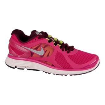 Nike Lunareclipse+ 2 红树莓色/反光银/葡萄酒红/珍珠粉(女子)