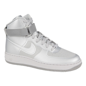 Nike Air Force 1 HI Hyperfuse PRM 浅灰色/中灰色