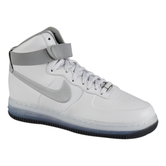 Nike Air Force 1 High LUX Max Air 白/灰