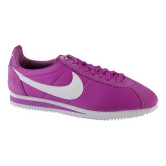 "Nike Classic Cortez Nylon ""阿甘鞋"" 红紫色/白(女子)"