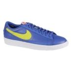 Nike Blazer Low 游戏宝蓝/原绿/白/亮深红