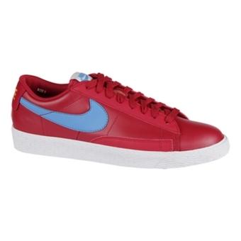 Nike Blazer Low 体育红/亮蓝/白/桔色