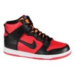 Nike Dunk High 亮红/黑/桔色