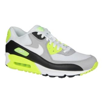 Nike Air Max 90 黑/白/中灰色/电黄