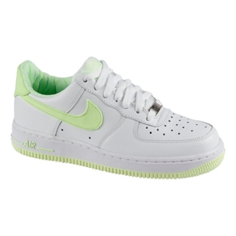 Nike Air Force 1 白/石灰色(女子)