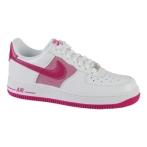 Nike Air Force 1白/亮紫红(女子)