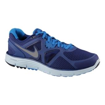 Nike Lunarglide+ 3 深宝蓝/冷灰色/飞翔蓝/苍蓝