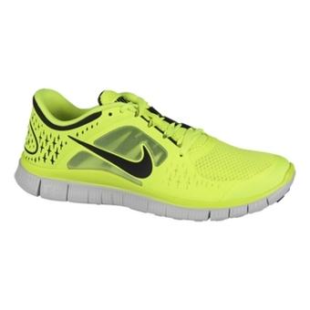 Nike Free Run+ 3 电黄/反光银/纯铂色