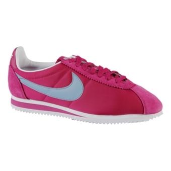 Nike Classic Cortez Nylon 亮紫红/暗蓝/白