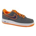 Nike Air Force 1 深灰/帝王紫/荷兰橙色